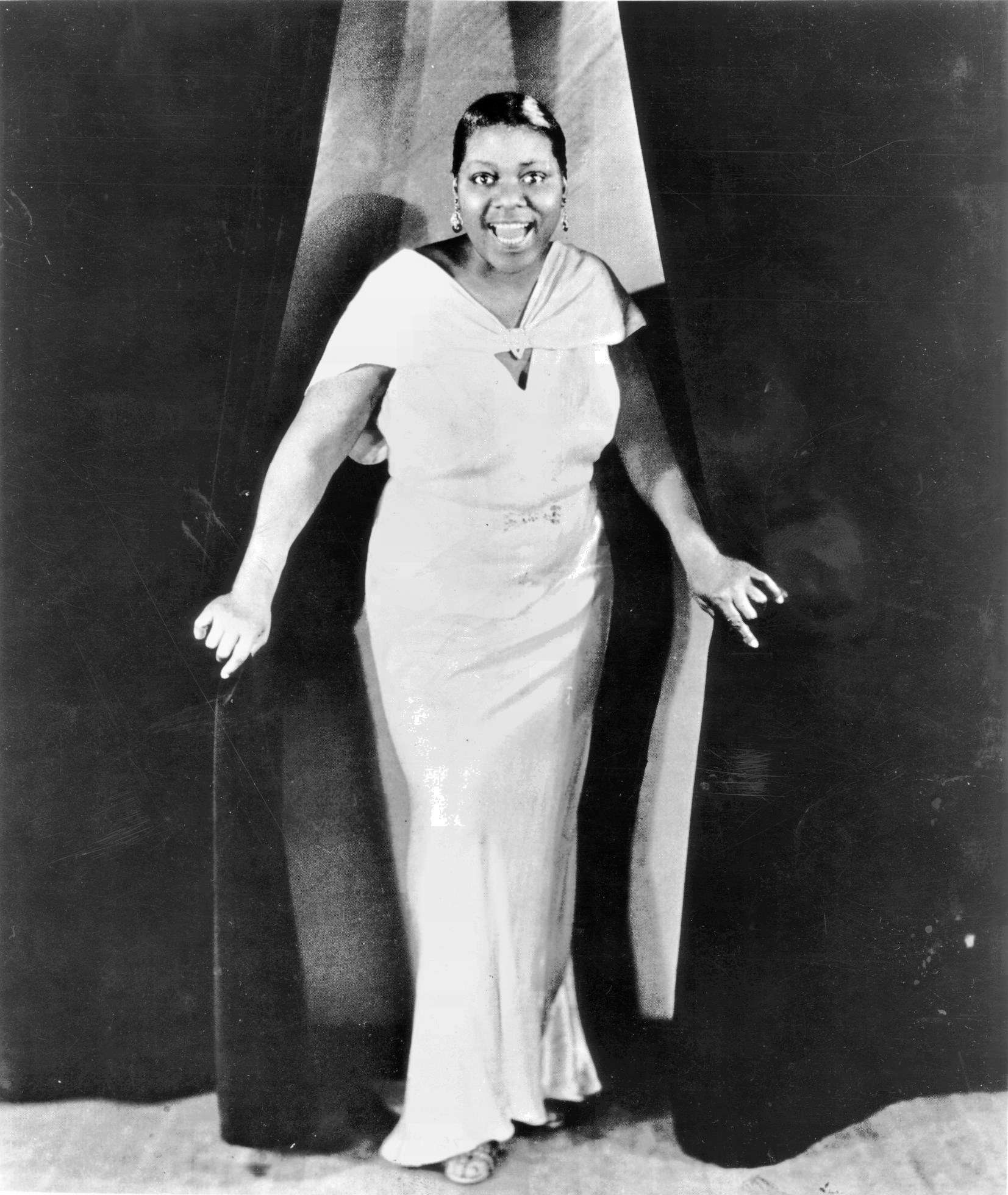 Bessie Smith with Louis Armstrong - Jazz Gallery