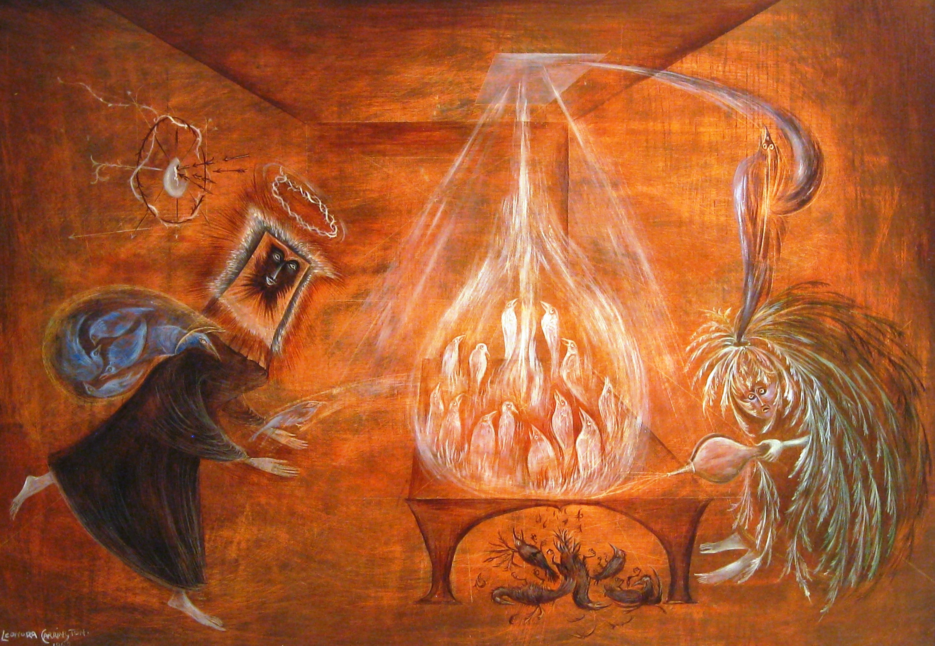Leonora carrington known people famous people news and for The carrington